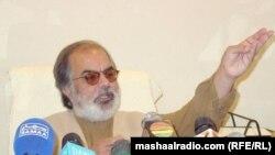 د بلوچستان نګران وزیراعلی نواب غوث بخش باروزی