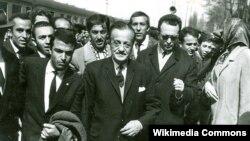 Necip Fazıl Kısakürek-in 1965-ci ildə Kayseriyə gəlişi