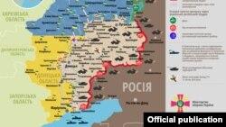 Ситуація в зоні бойових дій на Донбасі, 3 жовтня 2017 року