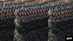 Ushtarë kinezë.