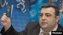 Начальник Паспортно-визового управления Полиции Армении Ованнес Кочарян