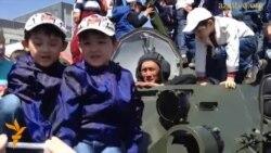 Военный парад в Астане