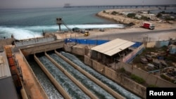 تاسیسات تصفیه آب در شهر ساحلی خدرا