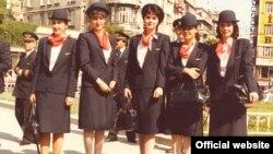 پوشش مهمانداران شرکت هوایی «ترکیش ایرلاین» در سال ۱۹۸۲.