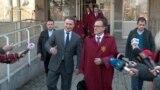 Архивска фотографија: Лидерот на ВМРО-ДПМНЕ Никола Груевски пред Кривичниот суд во Скопје