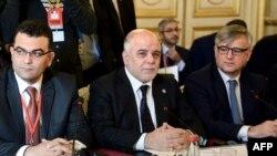 Irački premijer i članovi međunarodne koalicije na samitu u Parizu