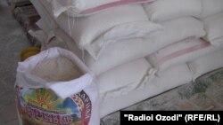 Продукты питания, доставляемые в Хорог. Таджикистан, июль 2012 года.