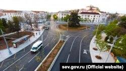 Улица Большая Морская в Севастополе после реконструкции, май 2020 года