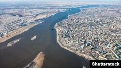 Хабаровск, вид города