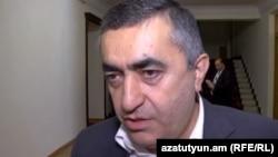Первый номер избирательного списка АРФ «Дашнакцутюн» Армен Рустамян (архив)