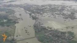 Японияда сув тошқини сабабли 10 минглаб одам эвакуация қилинди