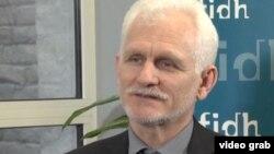 Белорусский оппозиционный активист Алесь Беляцкий.