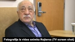 Fethullah Gulen during an interview on July 16.