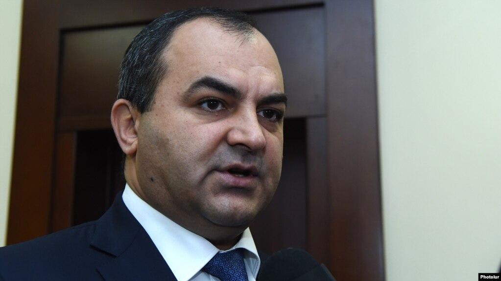 Генпрокурор представил в Высший судебный совет два ходатайства по вопросу судьи Гагика Гебояна