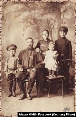 Фото из семейного архива Алексея Никитина