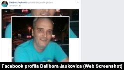 A profile photo from a social media account in the name of Dalibor Jaukovic.