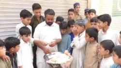 Pakistani Teacher Swaps Pupils For Pea-Selling To Survive Lockdown