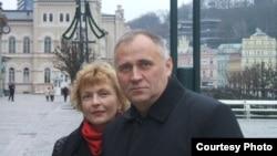 Николай Статкевич с супругой Мариной