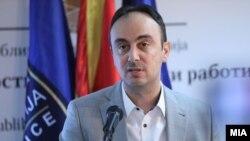Техничкиот министер за внатрешни работи Наќе Чулев