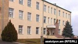 Здание Министерства обороны Нагорного Карабаха в Степанакерте