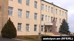 ԼՂ պաշտպանության նախարարության շենքը Ստեփանակերտում