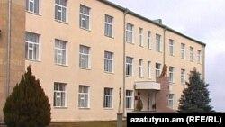 Լեռնային Ղարաբաղի պաշտպանության նախարարության շենքը Ստեփանակերտում