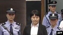Гу Кайлай, жена свергнутого китайского политика Бо Силая. Китай, 9 августа 2012 года.