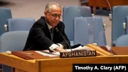 ՄԱԿ-ում հավատարմագրված Աֆղանստանի դեսպան Ղուլամ Իսակզայը, արխիվ