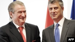 Berisha dhe Thaçi - foto arkivi