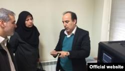 مسعود سلیمانی (نفر سمت راست)