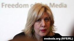 Дуња Мијатовиќ, претставничка на ОБСЕ за слобода на медиумите.