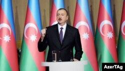 Президент Азербайджана Ильхам Алиев, 27 мая 2014