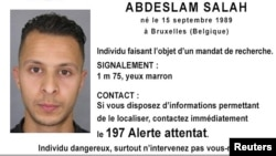Бельгиец Абдельслам Салах, объявленный в международный розыск