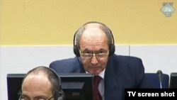 Tolimir u sudnici 25. veljače 2014.