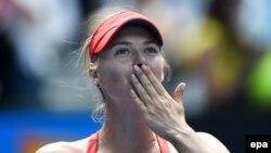 Russian tennis player Maria Sharapova