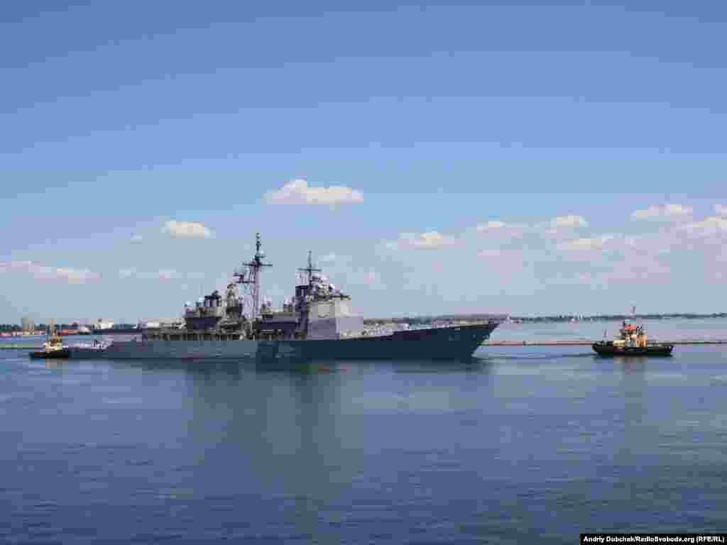 «Анжіо» на виході з одеського морського порту
