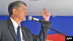 Алмаз Атамбаев, 2009-жылдын 18-июлу. Бишкек ш.