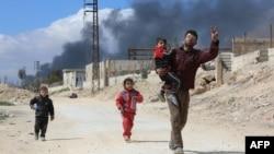 Ghouta de est, 16 martie 2018