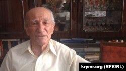 Решат Садреддинов, крымский татарин, полковник, ветеран Второй мировой войны, переживший депортацию