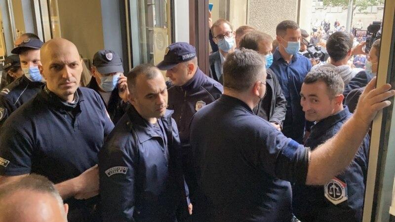 Advokati demonstranti upali u Vrhovni kasacioni sud u Beogradu