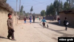 Пәкістандағы ауған босқындары лагері.
