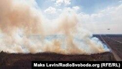Пожежі у Житомирській області, 18 квітня