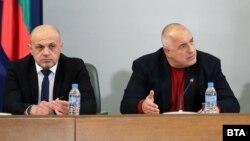 Вицепремиерът Томислав Дончев и министър-председателят Бойко Борисов