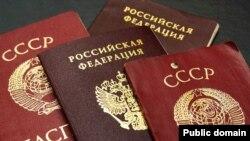 """Советлар Берлеге һәм Русия паспортлары: берсе """"милләтле"""", икенчесе """"милләтсез"""""""