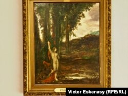 Gustave Moreau, Pasiphaé, în expoziția de la Evian