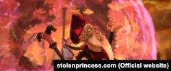Кадр із мультфільму «Викрадена принцеса»