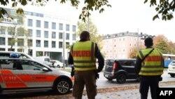 Германские полицейские в Мюнхене. Иллюстративное фото.