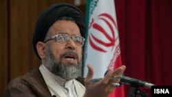File photo - Iran's intelligence minister Mahmoud Alavi