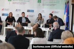 Заступник міністра енергетики та вугільної промисловості Наталія Бойко на форумі у Монте-Карло