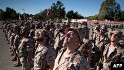 """Военнослужащие """"Испанского легиона"""" перед отправкой в Ирак. 2015 год"""